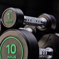 Набор гантелей полиуретановых 1кг-10кг с интервалом 1кг Apus Sports