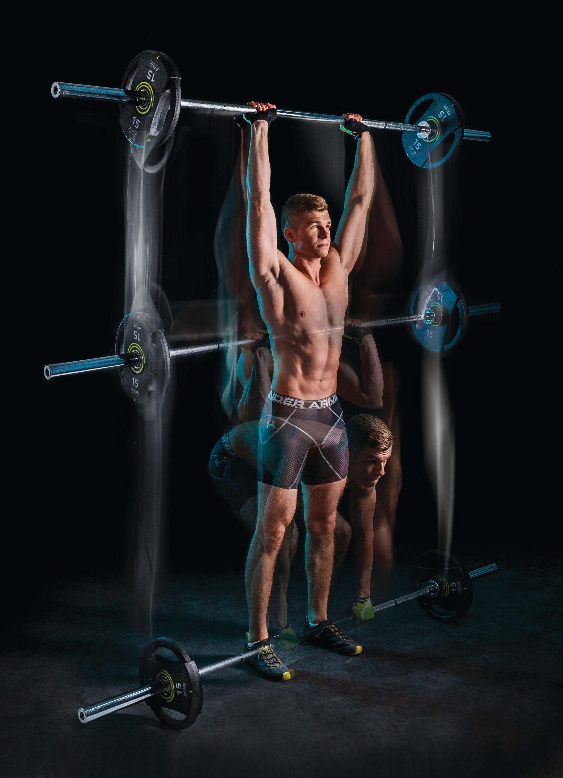 Гриф олимпийский для штанги 220 см. Apus Sports. Профессиональный прямой
