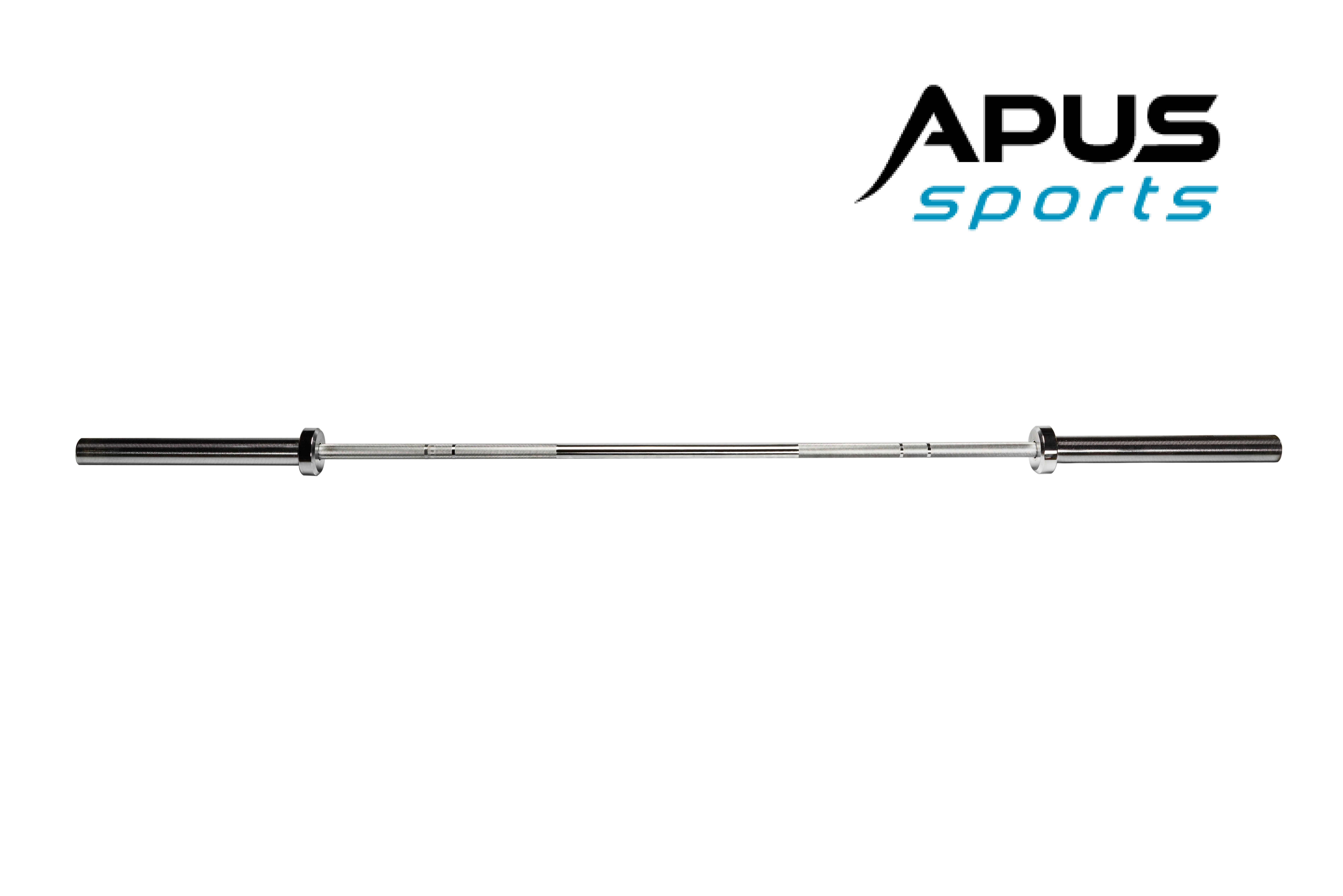 Гриф олимпийский для штанги 180 см. Apus Sports. Профессиональный прямой