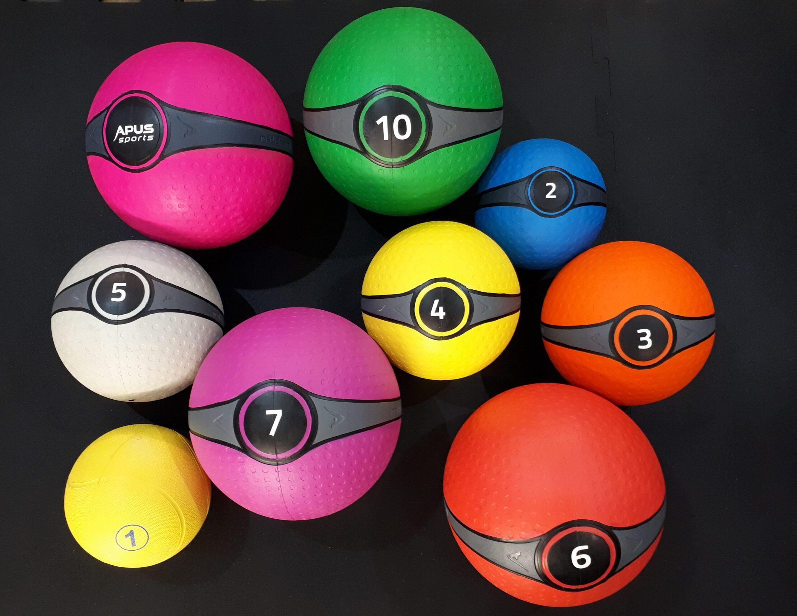 Медбол \ Медицинский мяч набор 1-10кг.