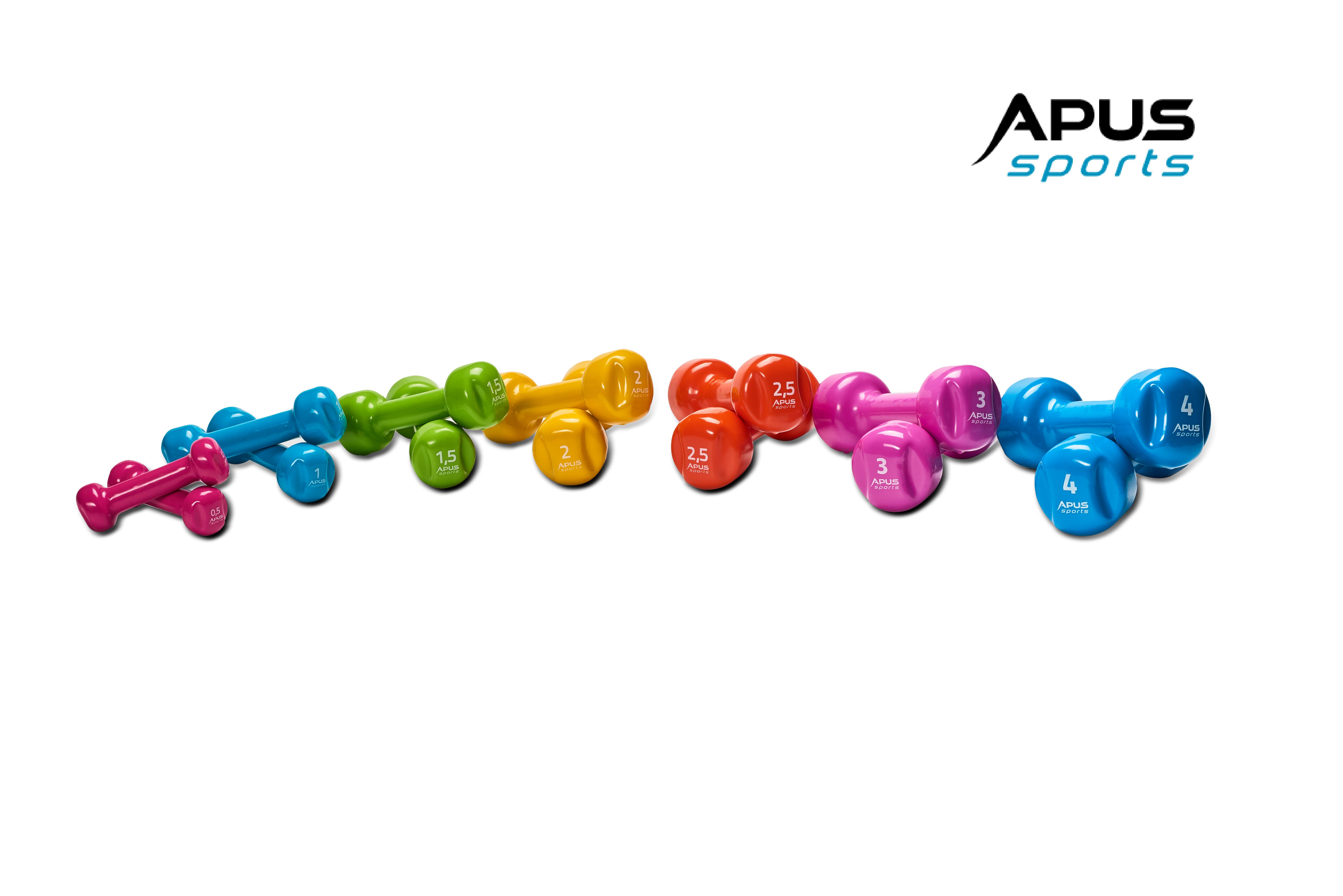 Гантели виниловые Apus Sports